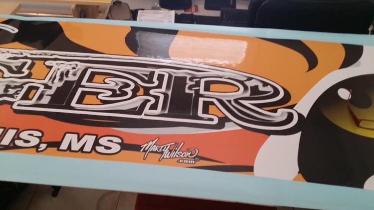 Mike Stickers Boat Graphics