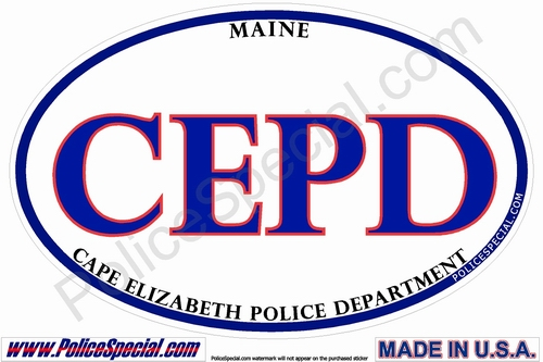 Maine Law Enforcement Stickers By Mike Stickers