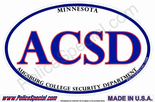 Minnesota Law Enforcement Stickers By Mike Stickers