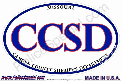 Missouri Law Enforcement Stickers By Mike Stickers