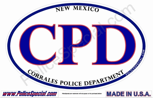 New Mexico Law Enforcement Stickers By Mike Stickers