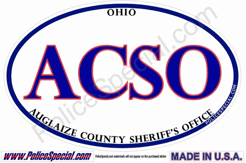 Ohio Law Enforcement Stickers By Mike Stickers