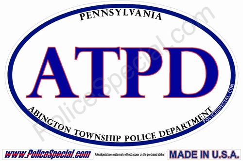 Pennsylvania Law Enforcement Stickers By Mike Stickers