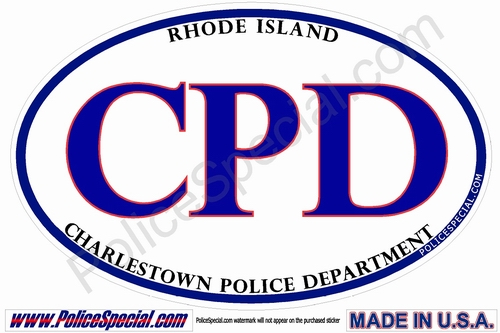 Rhode Island Law Enforcement Stickers By Mike Stickers