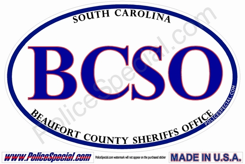 South Carolina Law Enforcement Stickers By Mike Stickers
