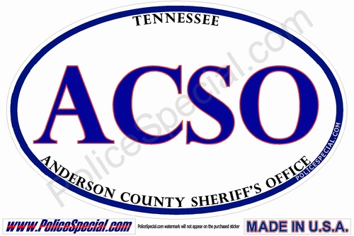 TENNESSEE Law Enforcement Stickers by: Mike Stickers