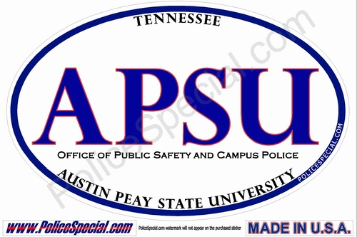 Tennessee Law Enforcement Stickers By Mike Stickers