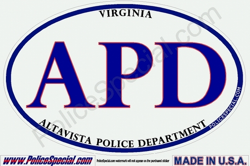 Virginia Law Enforcement Stickers By Mike Stickers