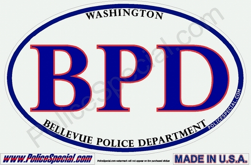 Washington Law Enforcement Stickers By Mike Stickers
